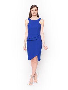 Ladies Dresses in Australia | Atomic Fitted Dress Blue | ROMANCE