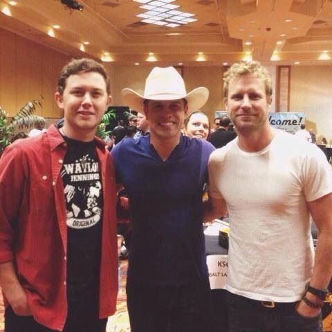 Scotty McCreery, Dustin Lynch, and Dierks Bentley
