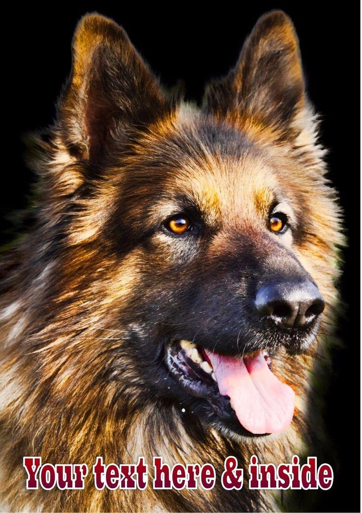 £3.99 GBP Personalised Alsation Gsd German Shepherd