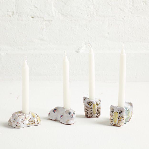 Animal Candlesticks | Agalis Manessi