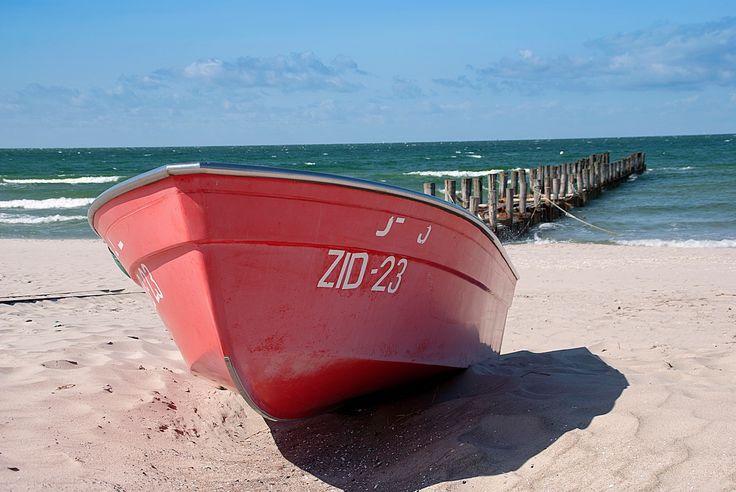 Boot an der Ostsee