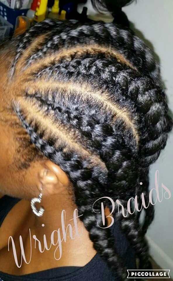 Wright Braids Goddess Braids Braids Hair Styles