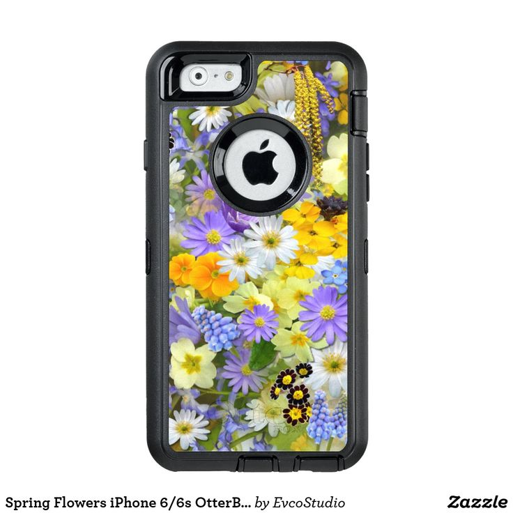 Spring Flowers iPhone 6/6s OtterBox Defender Case