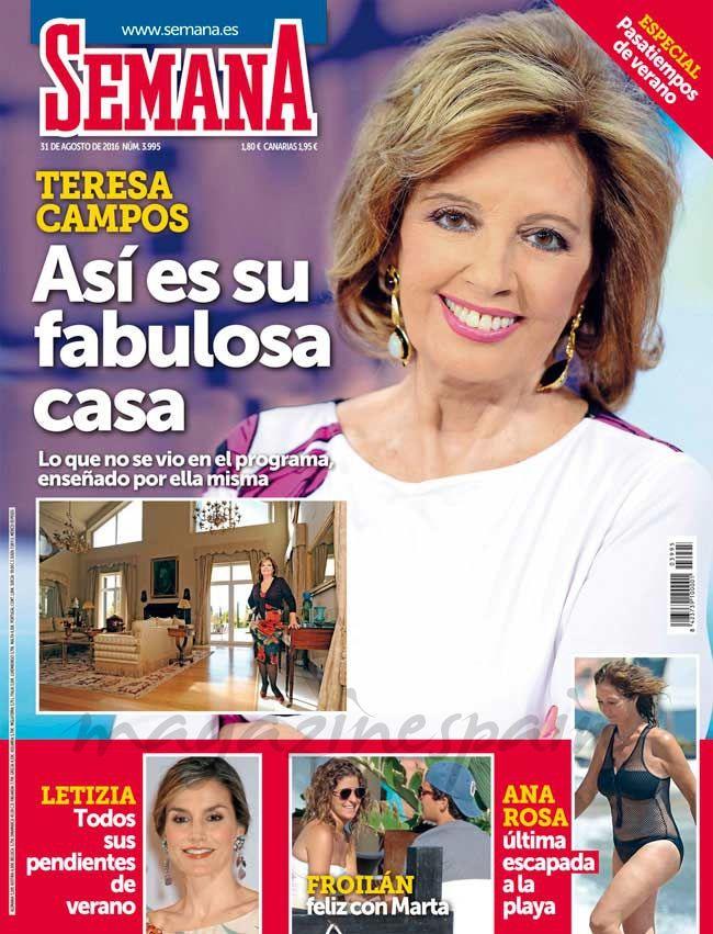 El Kiosko Rosa…24 de agosto de 2016 - revista semana 24 agosto 2016