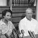 On June 12, 1967, the Supreme Court unanimously declared interracial marriage bans unconstitutional, striking down marriage bans in Virginia and eighteen other states in the case of Loving v. Virginia. Richard Loving was white; his wifeOn June 12, 1967, the Supreme Court unanimously declared interracial marriage bans unconstitutional, striking down marriage bans in Virginia and eighteen other states in the case of Loving v. Virginia. Richard Loving was white; his wife Mildred was black. They…