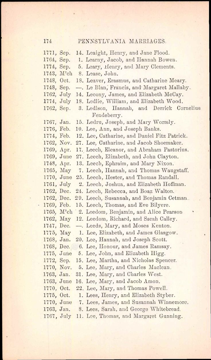 Marriage records on pinterest free marriage records search rebecca leech discovered in pennsylvania compiled marriage records 1700 1821 aiddatafo Gallery
