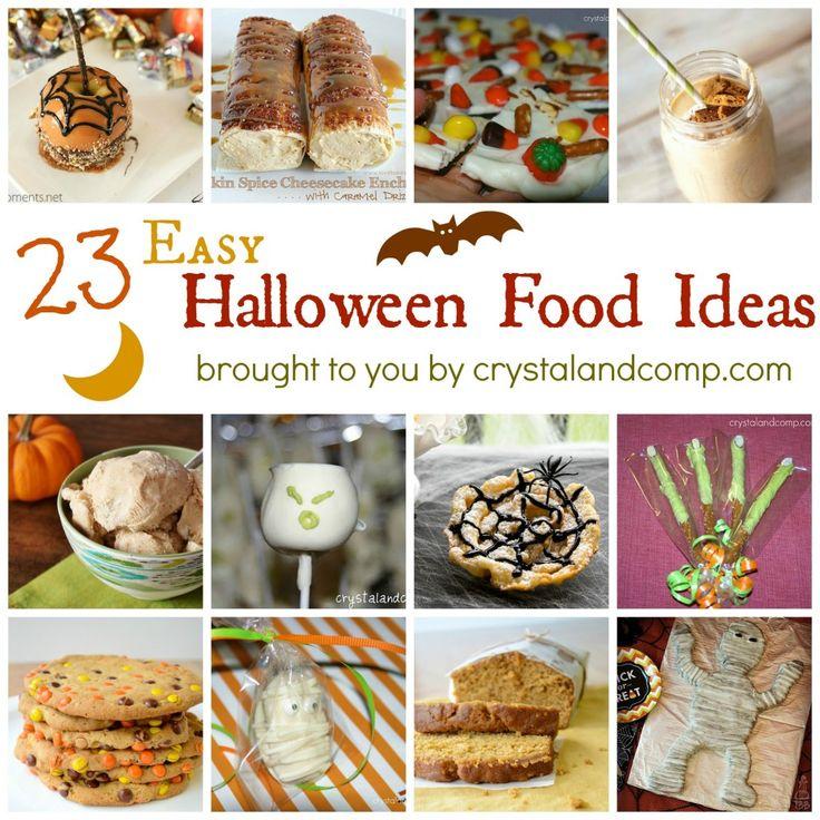 easy halloween food ideas nz