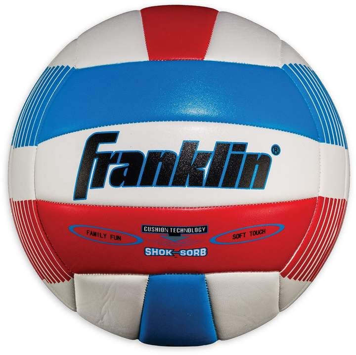 Franklin Sports Franklin Sports Super Soft Spike Volleyball In Red White Blue Sponsored Sponsored Super Soft With Images Spike Volleyball Franklin Sports Volleyball