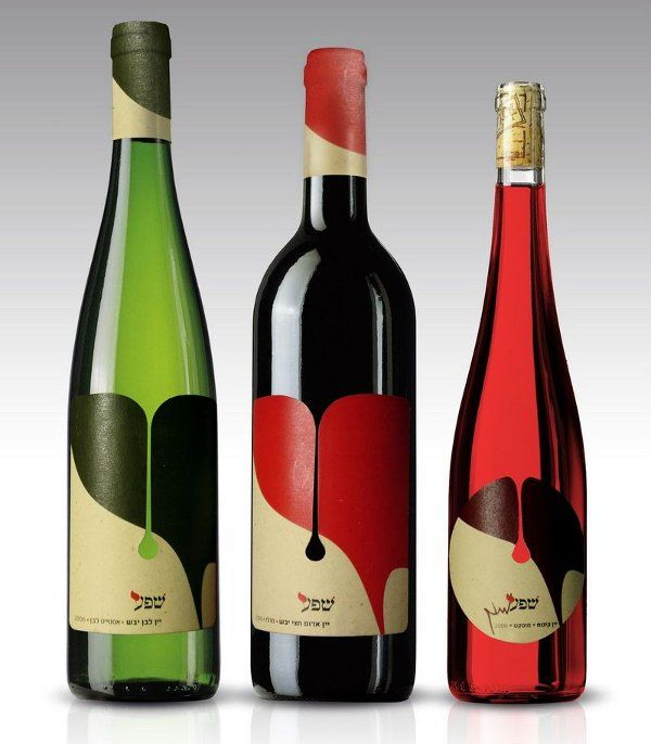 """The word """"Shefa"""" translates from Hebrew as """"profusion"""", with these wines named as such for their youthful abundance.  The Shefa Profusion Wines are flush with Hebrew iconography and imagery, giving these a decidedly Middle Eastern appearance."""