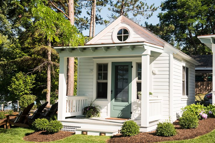 Small Cottage and Pergola Reveal! | Small cottages