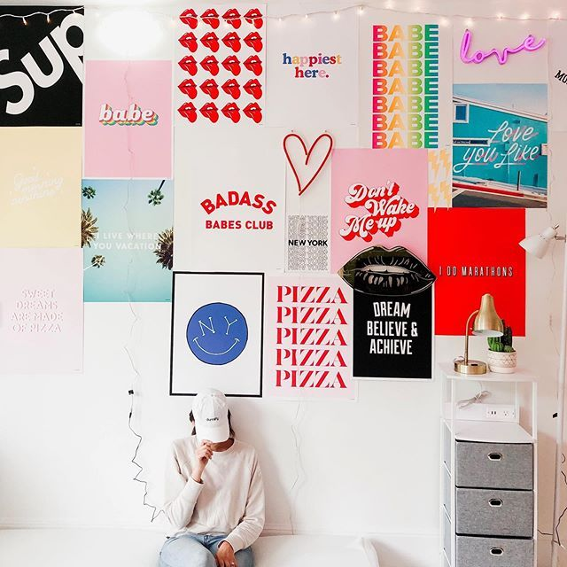 Never Tired Of Seeing A Good Poster Wall Www Dormify Com Sorority Room Cute Bedroom Decor Dorm Wall Art