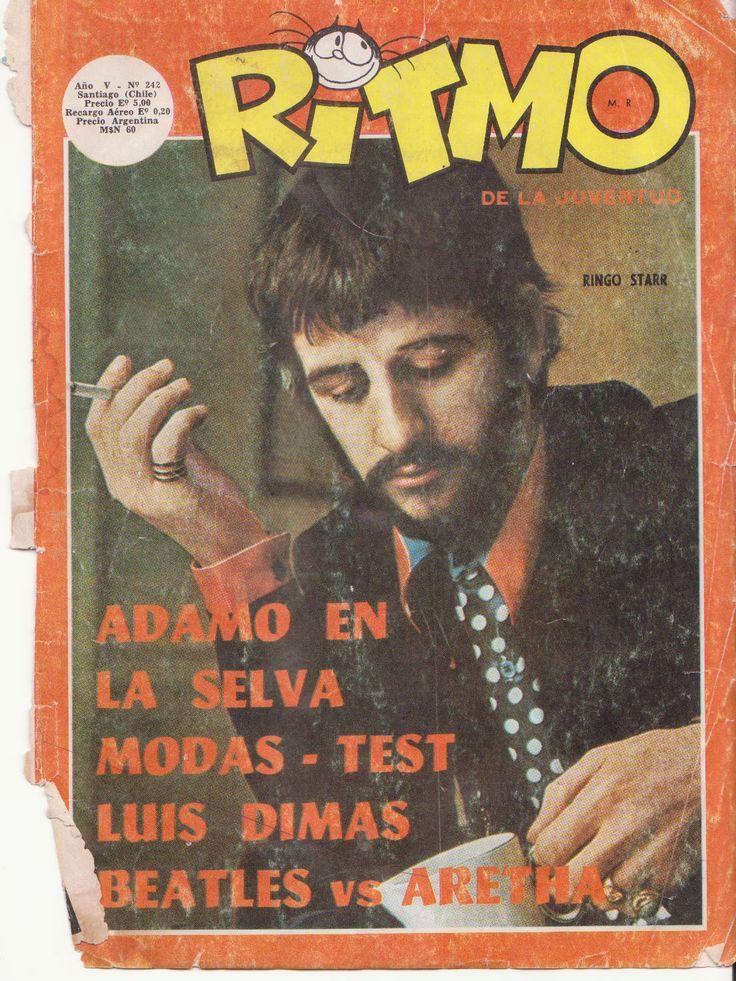 hojeando-el-ayer: REVISTA RITMO Nº 242 - AÑO 1970 - ¿ LOS BEATLES , SE SEPARAN ?