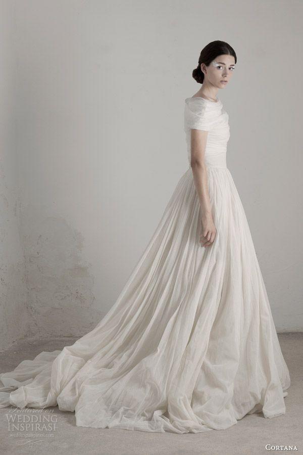 Cortana Bridal 2015 Wedding Dresses | Wedding Inspirasi ❤ Bespoke for iPad Discover//Save//Share www.bespoke-app.com