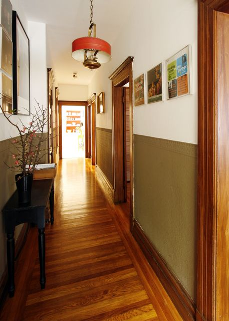 narrow hallway inspiration
