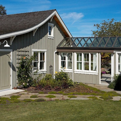 17 best images about bungalow breezeway on pinterest for House plans with breezeway between house and garage
