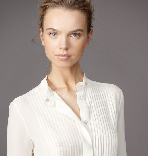 Belstaff | Womens Silk Ardington Blouse | Womens Designer Blouses & Tops