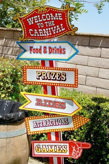 wedding carnival theme - Google Search