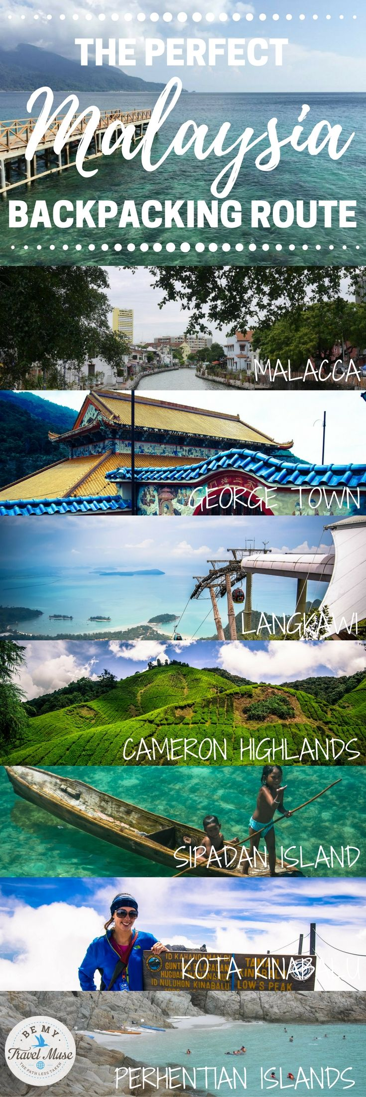 The ultimate guide to backpacking Malaysia, with 17 spots worth checking out (some are well known, some are off the beaten path!), ranging from the cosmopolitan cities, beaches, jungles, and national parks. Packing, budget, accommodation tips included | Be My Travel Muse | Malaysia travel tips | Malaysia itinerary | Backpacking Malaysia | #Malaysia