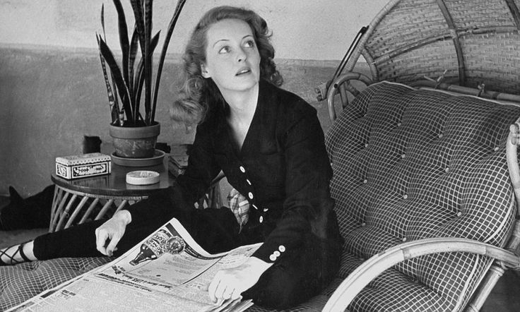 Never-before-seen photographs of legendary screen icon Bette Davis on what would be her 104th birthday