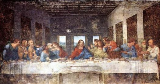 © Leonardo di ser Piero da Vinci - L' ultima cena (1495)