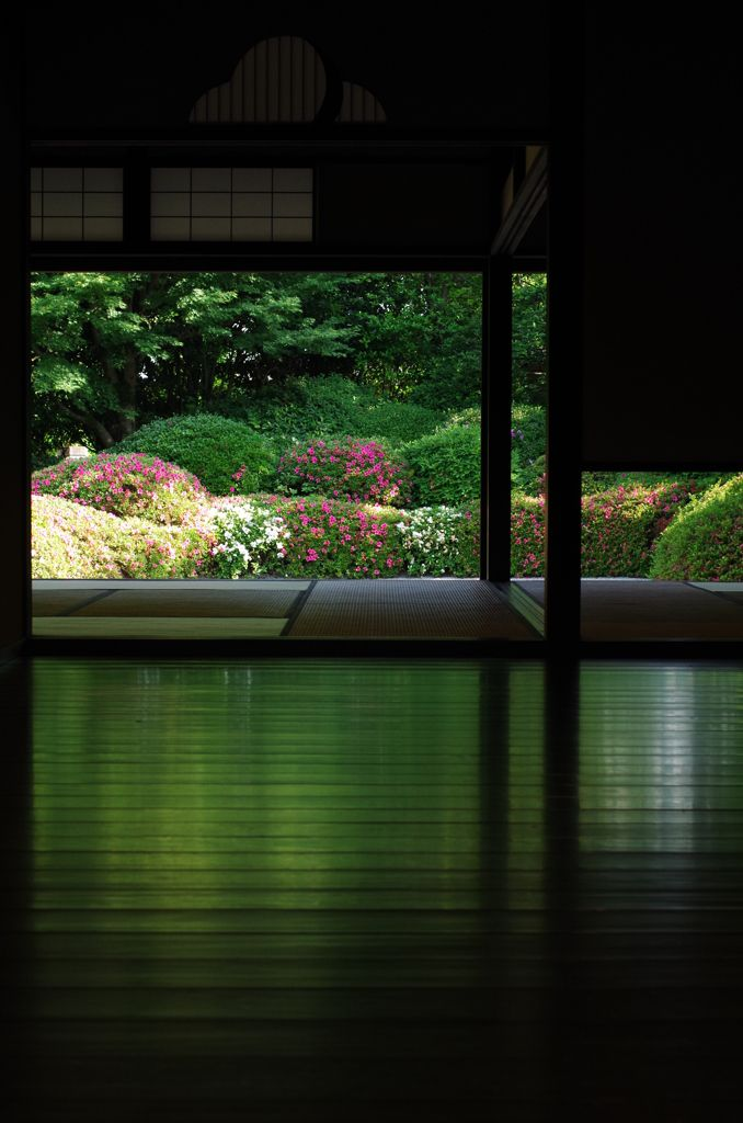 Shisen-do, Jozan-ji temple, Kyoto, Japan  詩仙堂 丈山寺