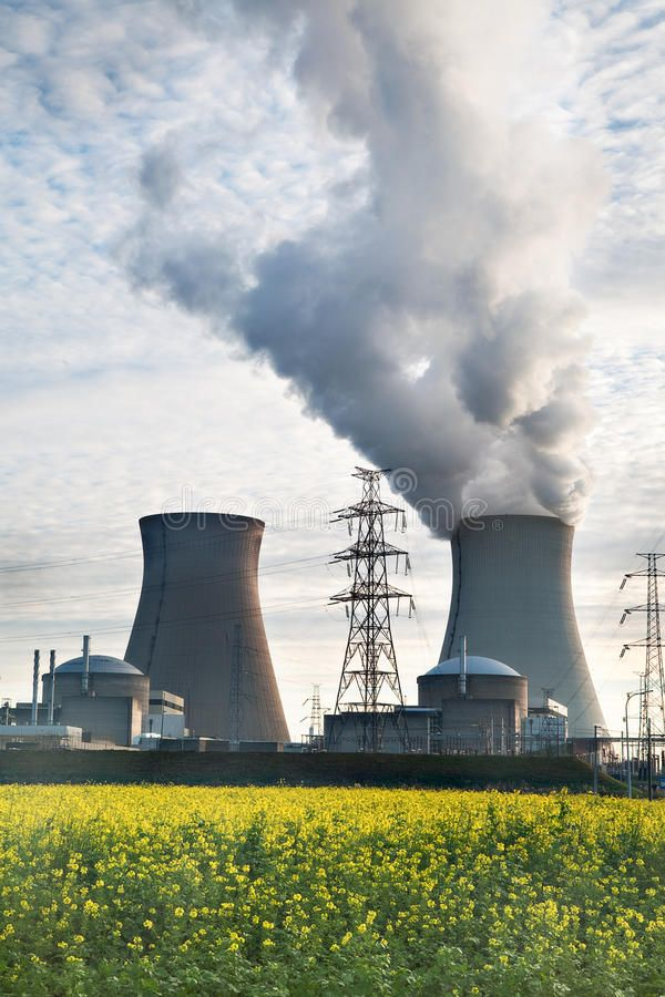 Nuclear Power Plant Biofuel Biodiesel Energy Cooling Towers Of A