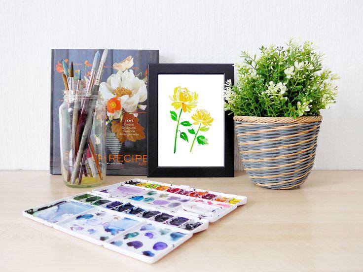 Now selling: CHRYSANTHEMUMS 5' x 7' printable https://www.etsy.com/listing/542920686/chrysanthemums-5-x-7-printable?utm_campaign=crowdfire&utm_content=crowdfire&utm_medium=social&utm_source=pinterest