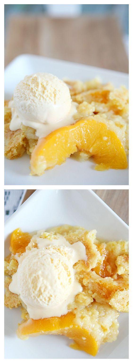 Peach Dump Cake | Dump Cake Recipes