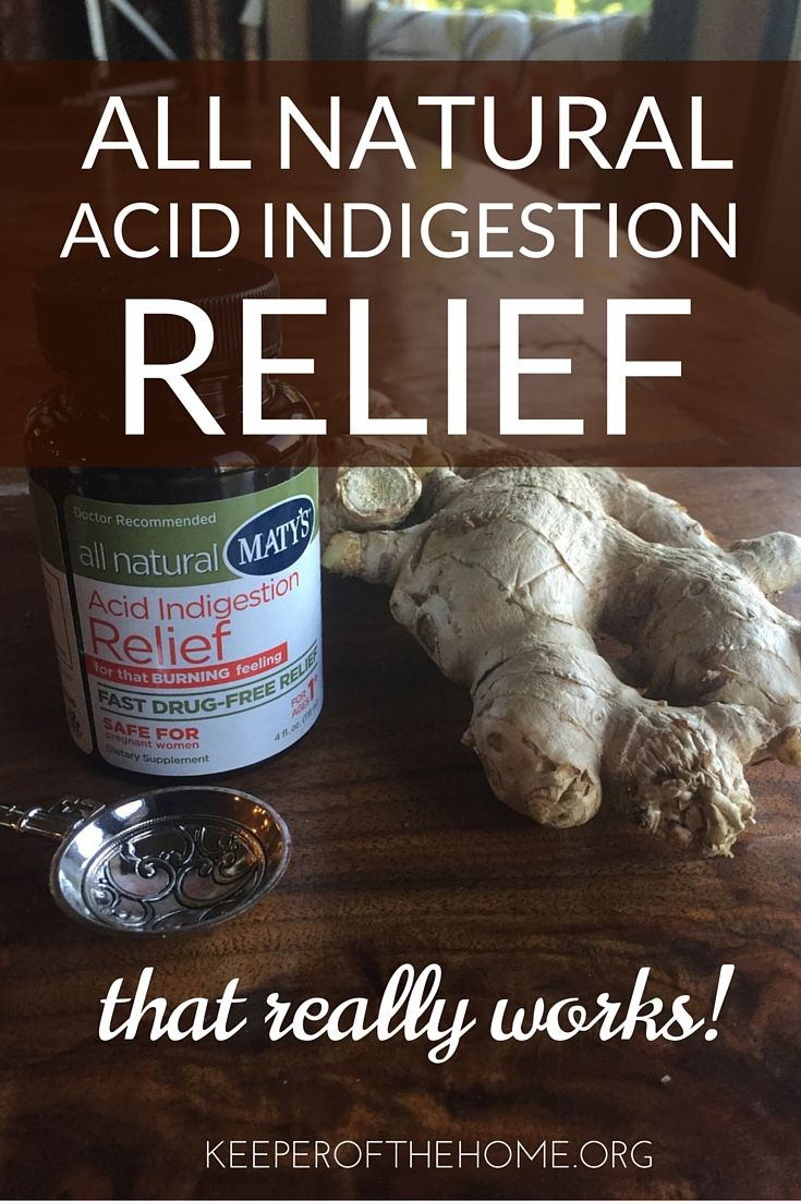 Faced with a bout of indigestion, we tried this all natural acid indigestion relief...and LOVED it. #acidindigestionrelief #naturalproducts
