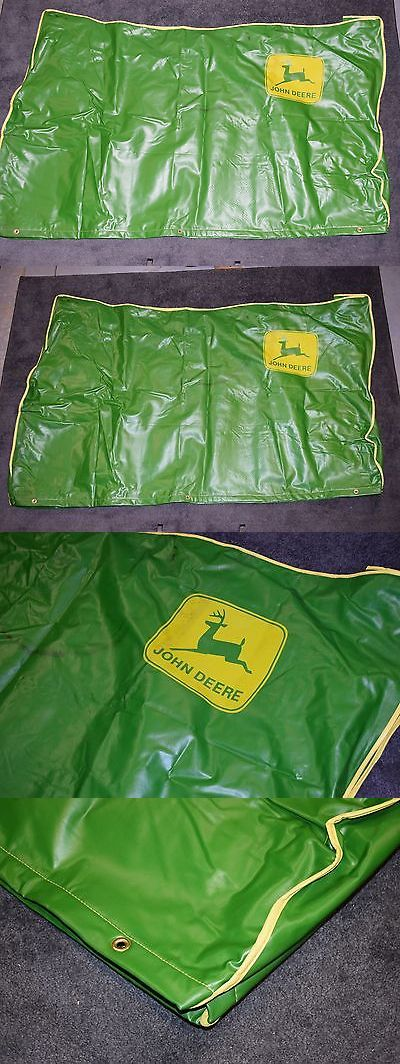 Riding Mowers 177021: Vtg John Deere Large Green Tractor Cover 70 X 40 Lawn Mower Riding 185 425 ? -> BUY IT NOW ONLY: $279.99 on eBay!