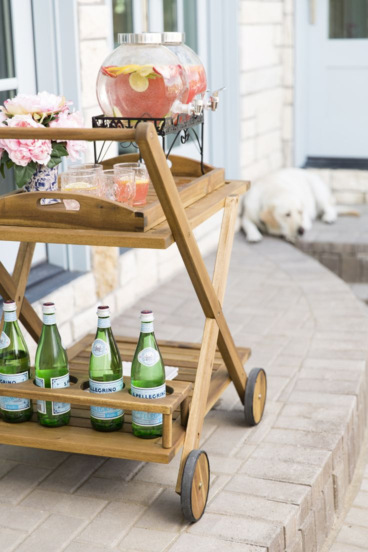 My Outdoor Living Space Reveal with @Joss&Main
