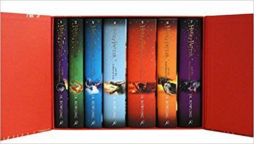 Optional: Harry Potter Box Set: The Complete Collection (Children's Hardback): Amazon.co.uk: J.K. Rowling: 9781408856789: Books  $100.88