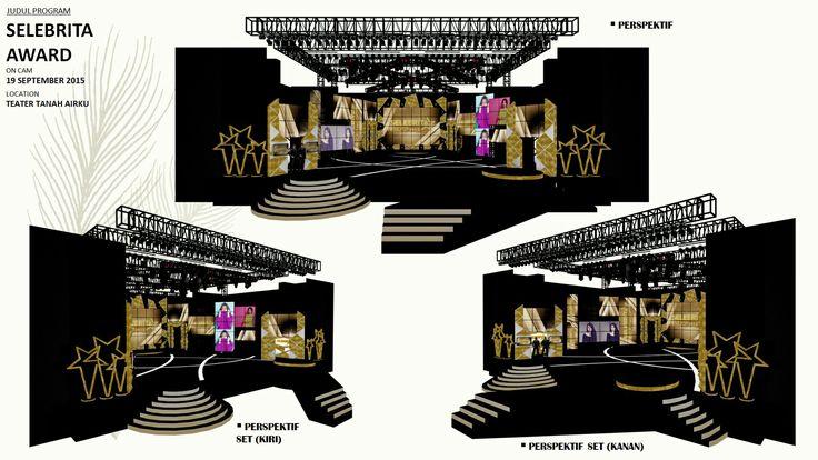 Selebrita awards 2015 (trans7) #portfolio #arsitektur #design #architecture