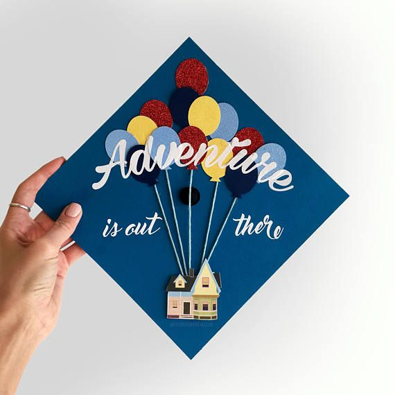 Graduation Cap Adventure Is Out There