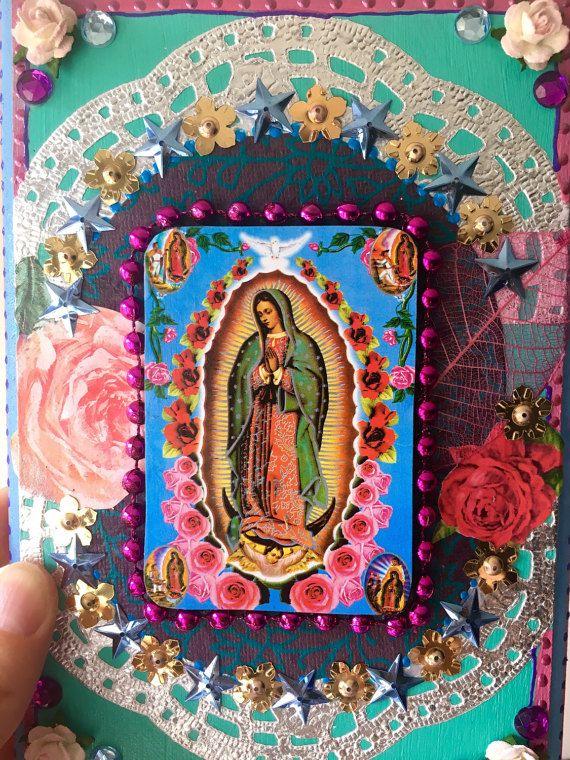 Unsere Liebe Frau von Guadalupe Vintage Bild auf von TheVirginRose