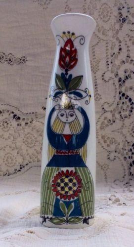 Saga-Norsk-Design-F-F-Figgjo-Flint-Slim-Vase-Mid-Century