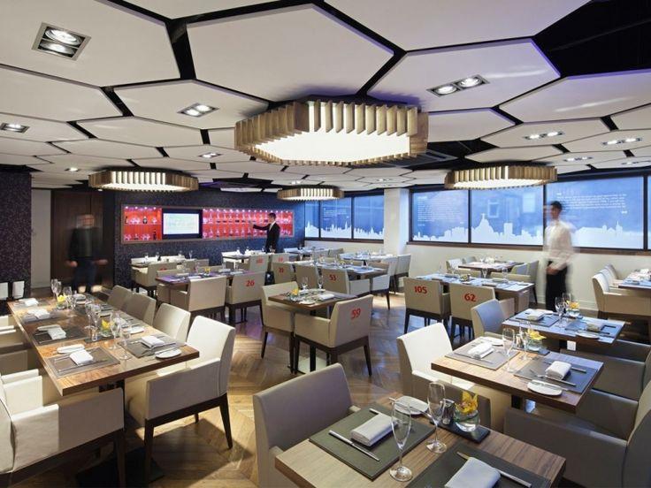 Armstrong Canopy Hexagon 44 Plafond Wandsystemen