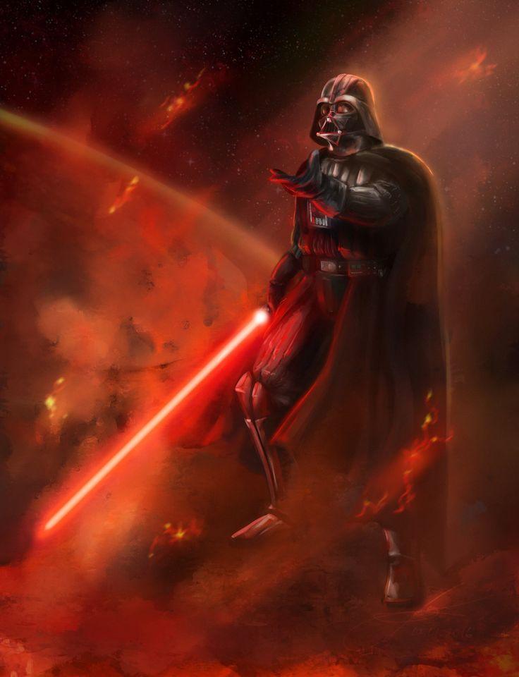 Darth Vader by Lotsmanoff on DeviantArt