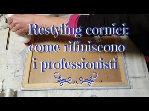 Restyling cornici come rifiniscono i professionisti