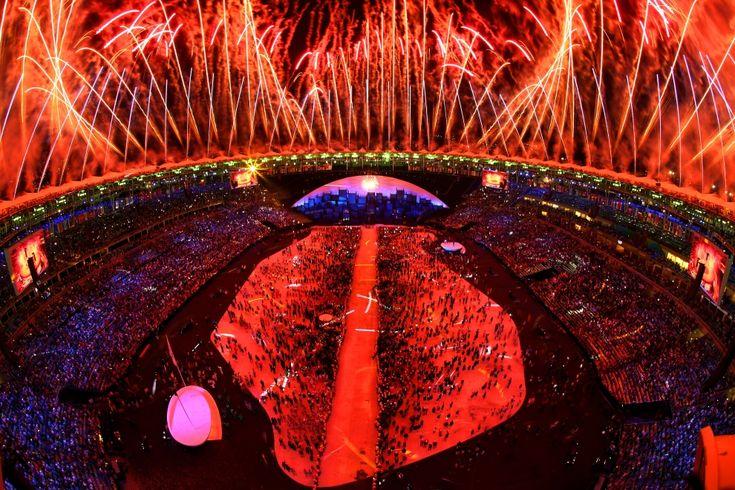 Ceremonia otwarcia igrzysk olimpijskich w Rio de Janeiro