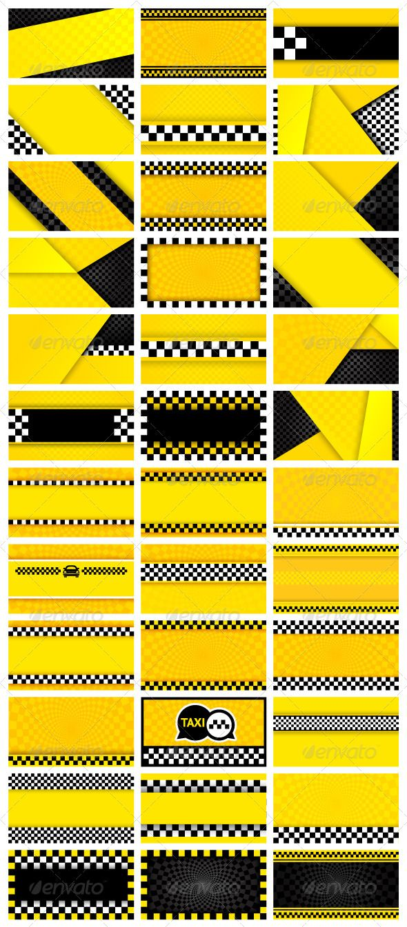 36 Taxi Backgrounds #GraphicRiver 36 taxi backgrounds • These are editable vector files • Available RGB color • Can be used in your web design and or for your work Attached ZIP folder contains: • EPS vector file is saved in file format EPS v. 10 • JPG image has high resolution 5000×2784 pixels Please don't forget to rate if you like it! Thank you Created: 16October13 GraphicsFilesIncluded: JPGImage #VectorEPS Layered: No MinimumAdobeCSVersion: CS Tags: america #banner #black #cab…
