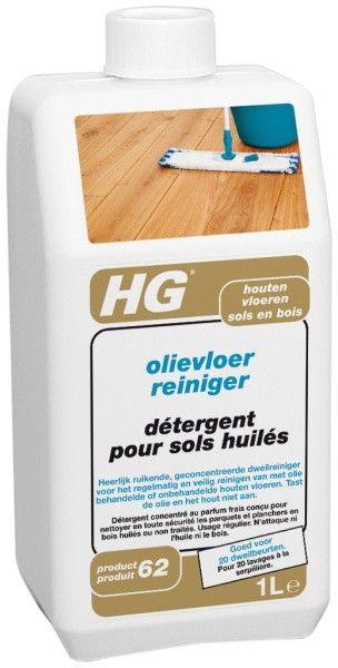 HG Olievloer Reiniger Productnr. 62  HG olievloer reiniger is een heerlijk ruikende geconcentreerde dweilreiniger speciaal ontwikkeld voor het regelmatig en toch veilig reinigen van met olie behandelde of onbehandelde houten vloeren. Deze unieke reiniger tast de olie en het hout niet aan en is zelfs geschikt  EUR 7.09  Meer informatie  #drogist