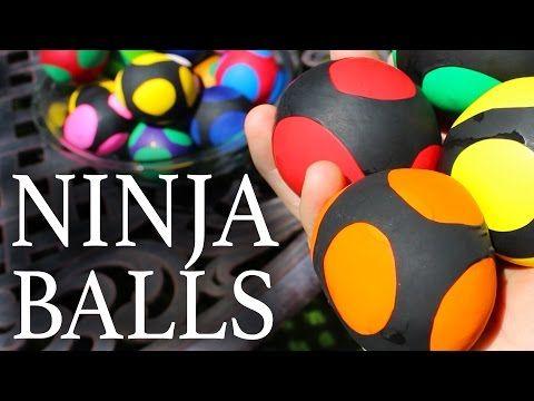 Make 'Ninja Balls' With Balloons And Flour