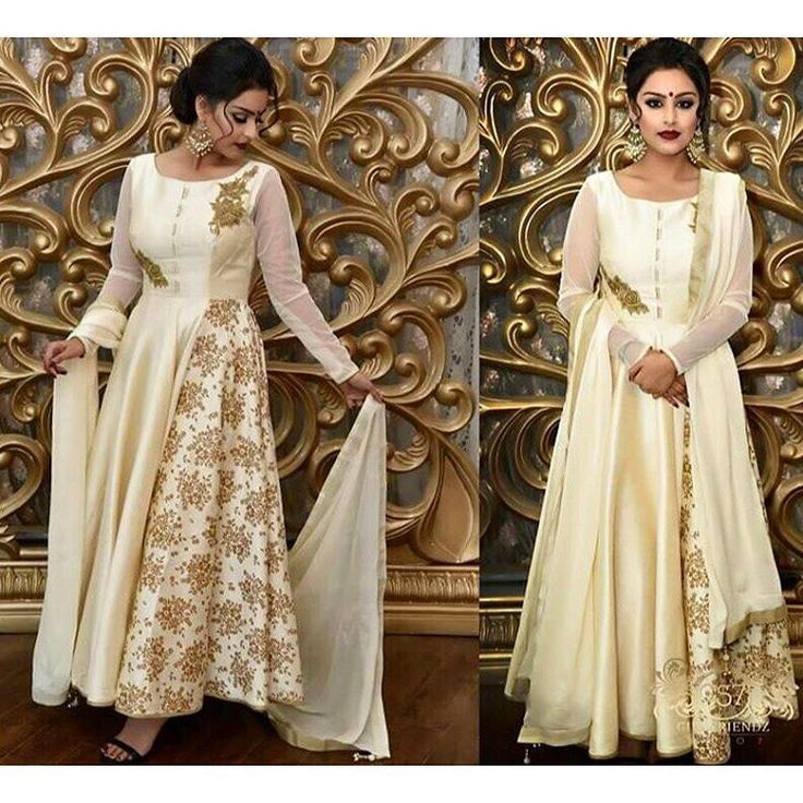 A stunning image captured of the beautiful Muskan in a dupion silk champagne coloured anarkali