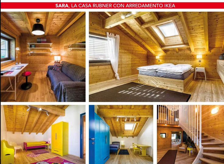 Catalogo casa sara rubner haus pinterest for Case in legno catalogo