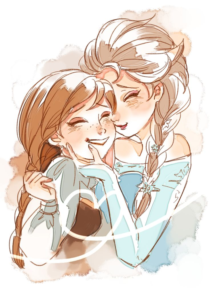 frozen characters elsa and anna meet the penguins of madagascar