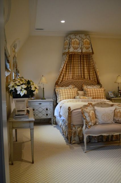 The Enchanted Home: Guest Bedroom with Garden Toile