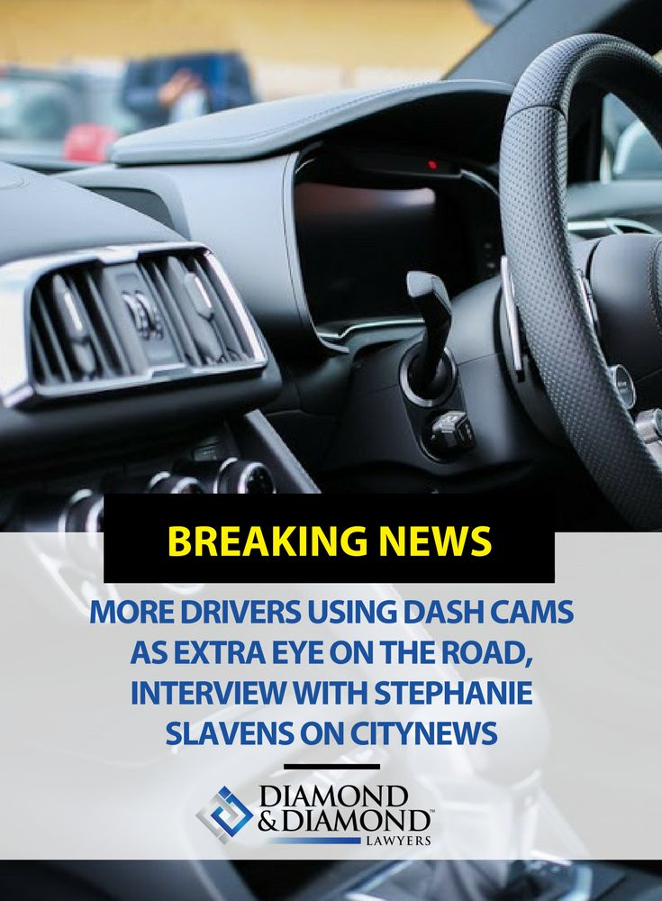 Stephanie Slavens made an appearance on CityNews Toronto to talk about dash cam videos, and how they have become the star witness in car accident lawsuits. A recent survey found that 35% of Canadians have a dash cam in their car. It is becoming common practice in order to have better evidence of accidents and unsafe driving on the road. Watch the full video here.