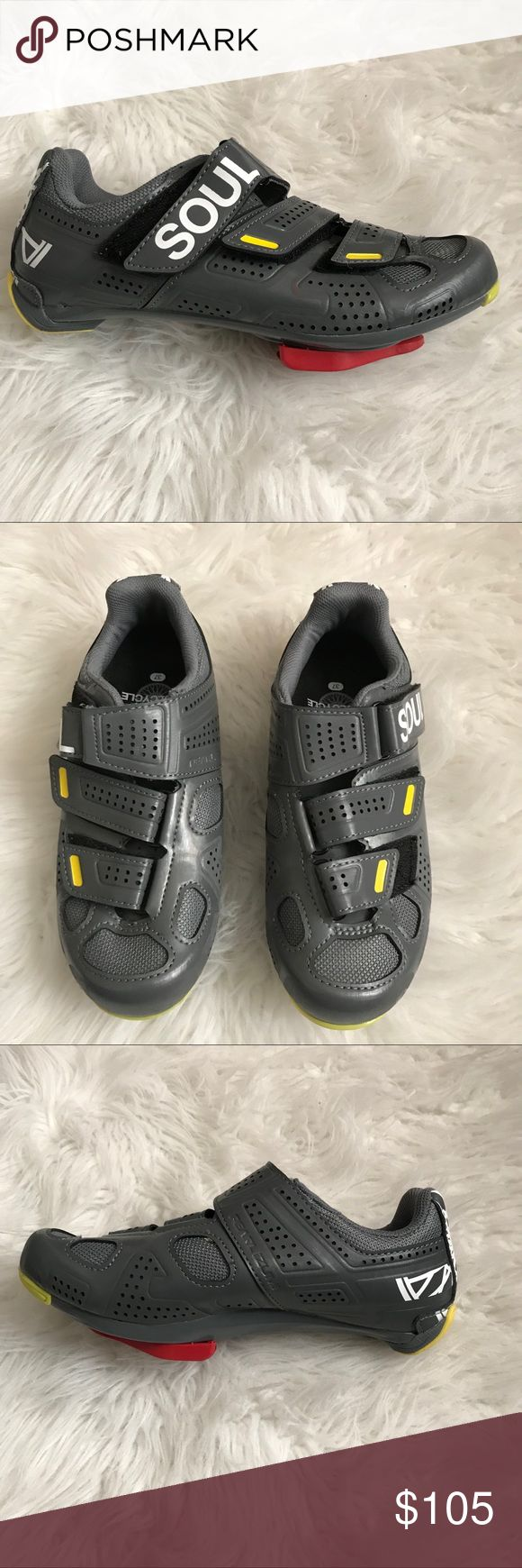 Soul Cycle Spinning Shoe (Updated Sizing) Gently used. Perfect for cycling! Soul Cycling Sizing: 37 = 5.0 in Women's soulcycle Shoes