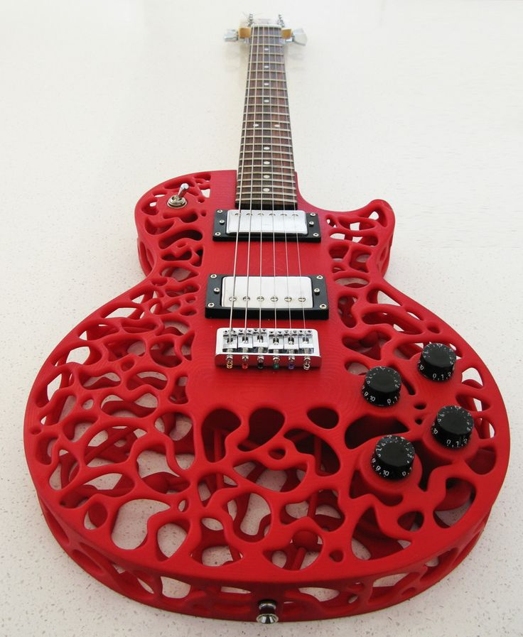 What You Hear is What You'll See - More 3D Printed Guitars!